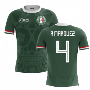 2018-2019 Mexico Home Concept Football Shirt (R Marquez 4)