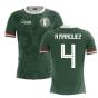 2020-2021 Mexico Home Concept Football Shirt (R Marquez 4)
