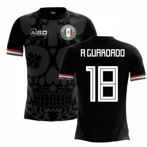 2018-2019 Mexico Third Concept Football Shirt (A Guardado 18)