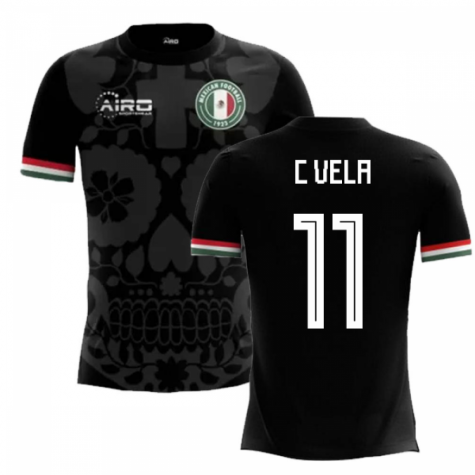 2018-2019 Mexico Third Concept Football Shirt (C Vela 11)