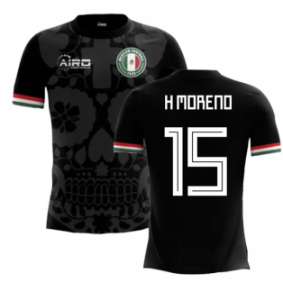 2018-2019 Mexico Third Concept Football Shirt (H Moreno 15)
