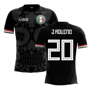 2020-2021 Mexico Third Concept Football Shirt (J Aquino 20) - Kids
