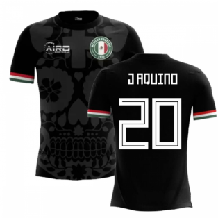 2018-2019 Mexico Third Concept Football Shirt (J Aquino 20) - Kids