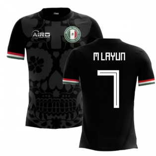 2018-2019 Mexico Third Concept Football Shirt (M Layun 7)