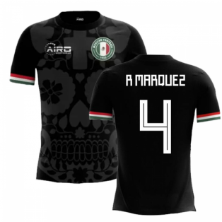 2018-2019 Mexico Third Concept Football Shirt (R Marquez 4) - Kids