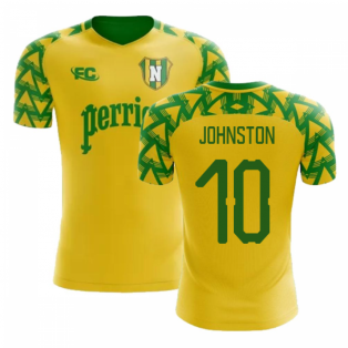 2018-2019 Nantes Fans Culture Home Concept Shirt (Johnston 10) - Womens