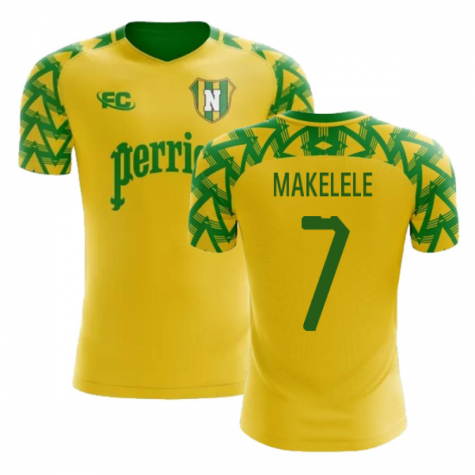 2018-2019 Nantes Fans Culture Home Concept Shirt (Makelele 7) - Kids