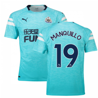 2018-2019 Newcastle Third Football Shirt (Manquillo 19)