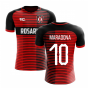 2018-2019 Newells Old Boys Fans Culture Home Concept Shirt (Maradona 10) - Little Boys