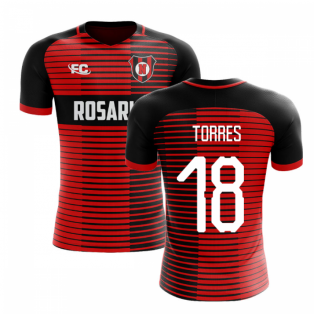 2018-2019 Newells Old Boys Fans Culture Home Concept Shirt (Torres 18)