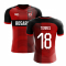 2018-2019 Newells Old Boys Fans Culture Home Concept Shirt (Torres 18) - Baby