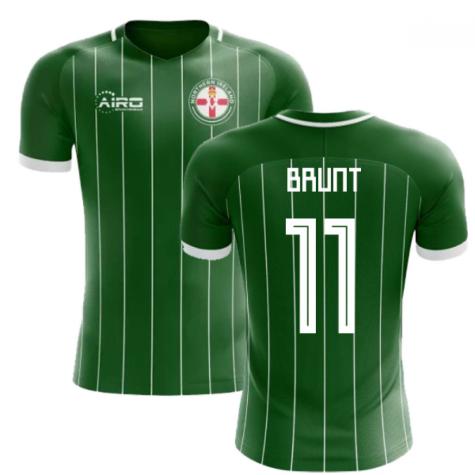 2020-2021 Northern Ireland Home Concept Football Shirt (Brunt 11)