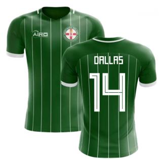 2018-2019 Northern Ireland Home Concept Football Shirt (Dallas 14)