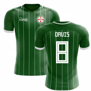 2018-2019 Northern Ireland Home Concept Football Shirt (Davis 8)
