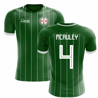2018-2019 Northern Ireland Home Concept Football Shirt (McAuley 4) - Kids