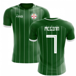 2018-2019 Northern Ireland Home Concept Football Shirt (McGinn 7)