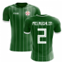 2018-2019 Northern Ireland Home Concept Football Shirt (McLaughlin 2)