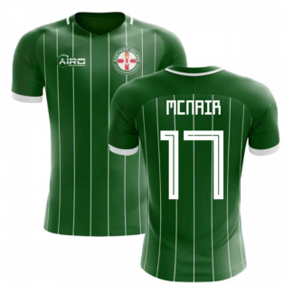 2018-2019 Northern Ireland Home Concept Football Shirt (McNair 17)