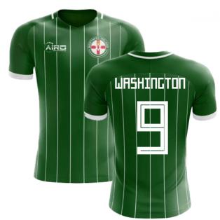 2018-2019 Northern Ireland Home Concept Football Shirt (Washington 9) 4f0aa4be6