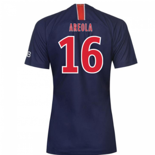 2018-2019 PSG Home Nike Womens Football Shirt (Areola 16)