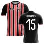 2020-2021 Sao Paolo Home Concept Football Shirt (Hernanes 15)