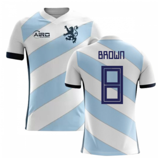 2018-2019 Scotland Away Concept Football Shirt (Brown 8)