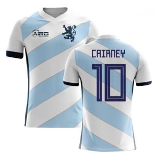 2020-2021 Scotland Away Concept Football Shirt (Cairney 10)