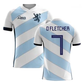 2018-2019 Scotland Away Concept Football Shirt (D Fletcher 7)