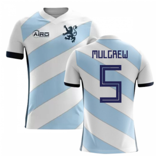 2020-2021 Scotland Away Concept Football Shirt (Mulgrew 5)