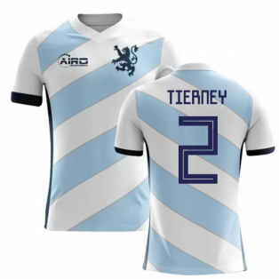 2018-2019 Scotland Away Concept Football Shirt (Tierney 2)