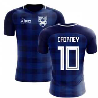 2018-2019 Scotland Tartan Concept Football Shirt (Cairney 10)