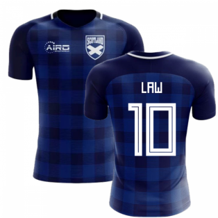 2018-2019 Scotland Tartan Concept Football Shirt (Law 10)