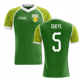 2020-2021 Senegal Away Concept Football Shirt (Gueye 5)