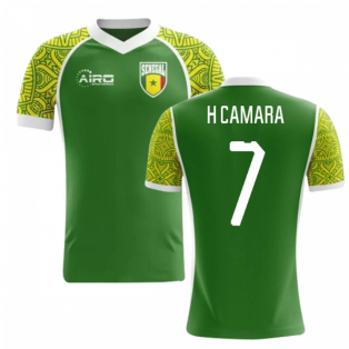 2018-2019 Senegal Away Concept Football Shirt (H Camara 7)