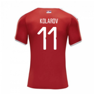 2018-2019 Serbia Home Puma Football Shirt (Kolarov 11)