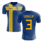 2018-2019 Sweden Flag Concept Football Shirt (Lindelof 3)