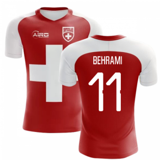 2020-2021 Switzerland Flag Concept Football Shirt (Behrami 11)