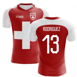 2020-2021 Switzerland Flag Concept Football Shirt (Rodriguez 13)
