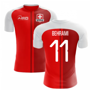 2018-2019 Switzerland Home Concept Football Shirt (Behrami 11)