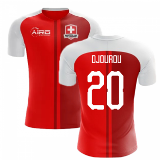 2018-2019 Switzerland Home Concept Football Shirt (Djourou 20)