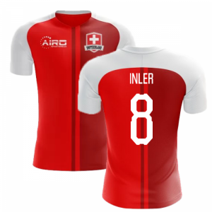 2018-2019 Switzerland Home Concept Football Shirt (Inler 8)