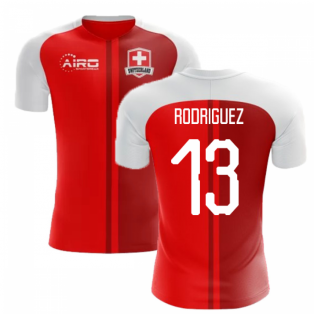 2018-2019 Switzerland Home Concept Football Shirt (Rodriguez 13)