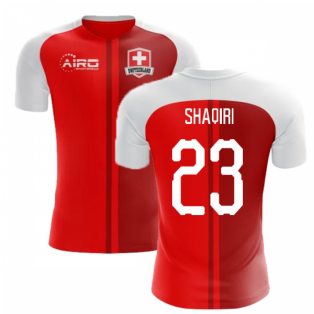 2018-2019 Switzerland Home Concept Football Shirt (Shaqiri 23)