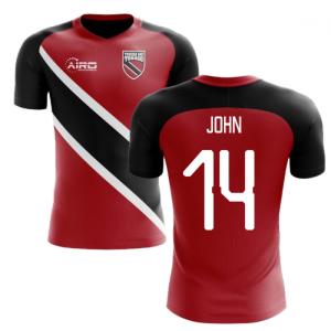 2020-2021 Trinidad And Tobago Home Concept Football Shirt (JOHN 14)