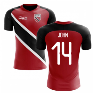 2018-2019 Trinidad And Tobago Home Concept Football Shirt (JOHN 14)