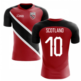 2018-2019 Trinidad And Tobago Home Concept Football Shirt (Scotland 10)
