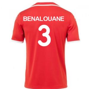 2018-2019 Tunisia Away Uhlsport Football Shirt