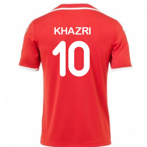 2018-2019 Tunisia Away Uhlsport Football Shirt (Khazri 10)