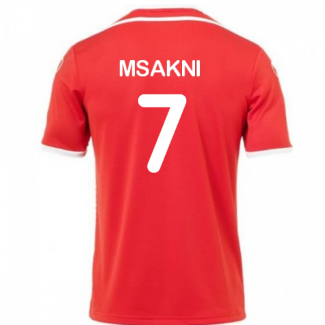 2018-2019 Tunisia Away Uhlsport Football Shirt (Msakni 7)