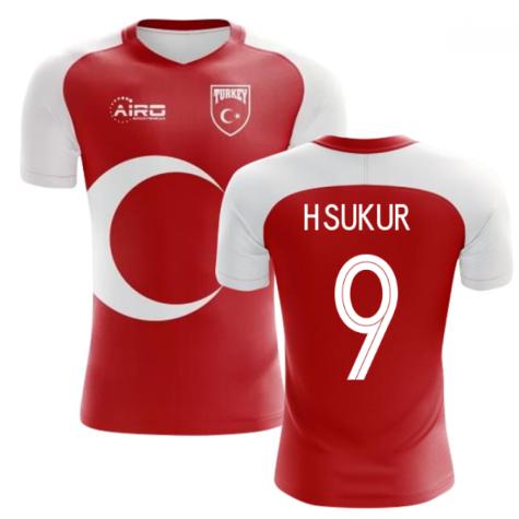 2020-2021 Turkey Home Concept Football Shirt (H.SUKUR 9) - Kids